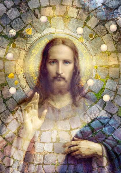 The Cobbelstone Gospel, 2020, (digital collage)
