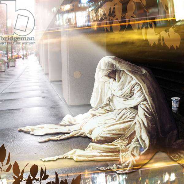 The Annunciation, 2007 (digital collage)