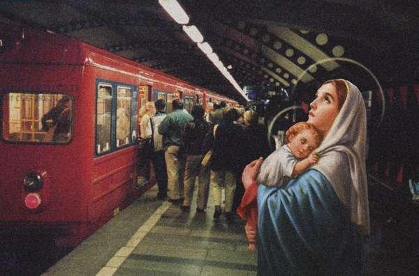 The Escape, 2001 (digital collage)