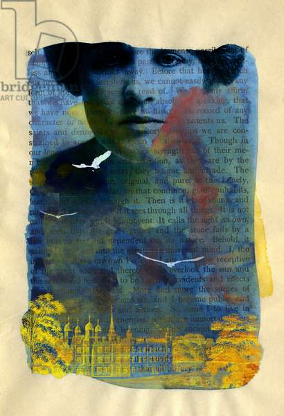 The Lightness, 2012, (digital mixed media)