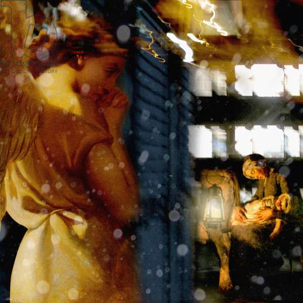 Guardian Angel, 2007 (digital collage)