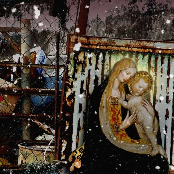 No Room at the Inn, 2008 (digital collage)