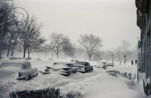 Snow Storm, 1961 (photo)
