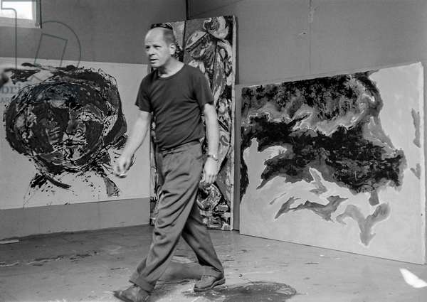 Pollock (b/w photo)