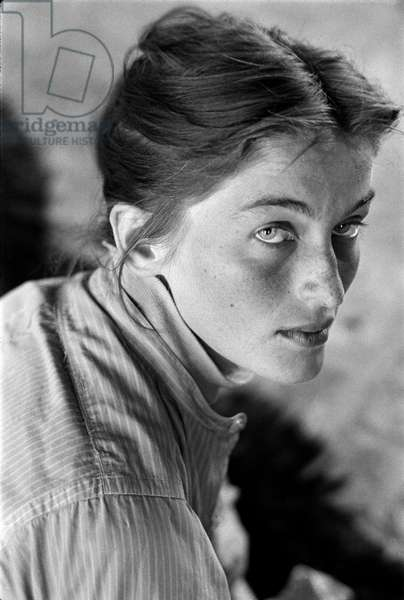 The Huntress, East Hampton Art Colony, 1953 (b/w photo)