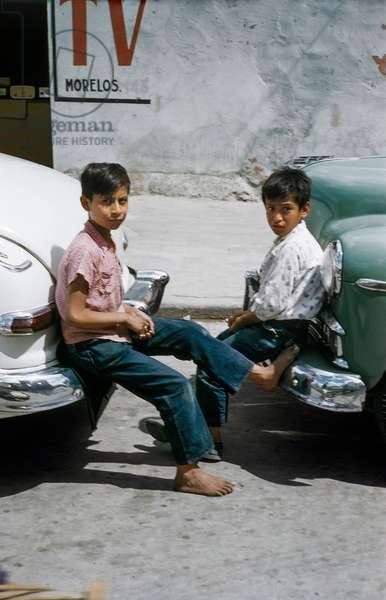 Two Mexican Boys (photo)