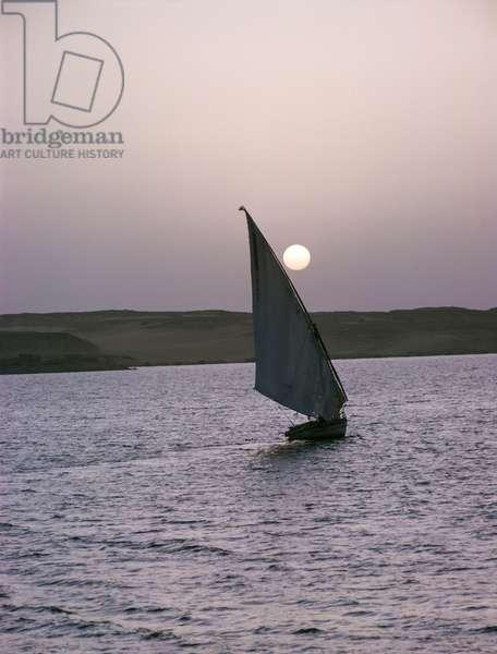 Sailing on the Nile (photo)