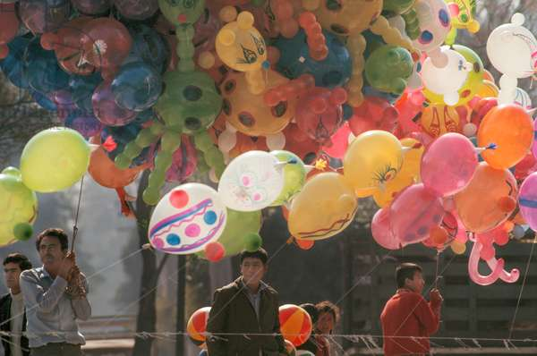 Selling Ballons (photo)