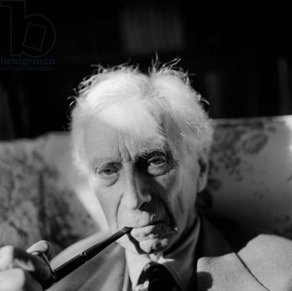 Bertrand Russell, 1964 (b/w photo)