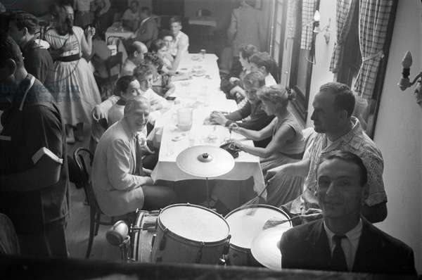 East Hampton Dance Party 2, 1953 (b/w photo)