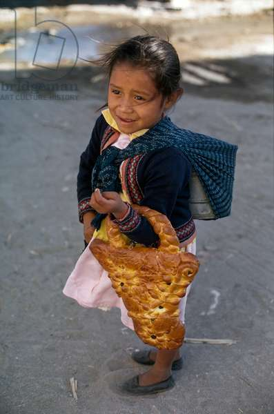 Selling Bread (photo)