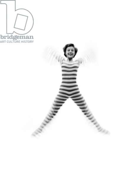 Joy for Flair, Debbie Reynolds, 1951 (b/w photo)