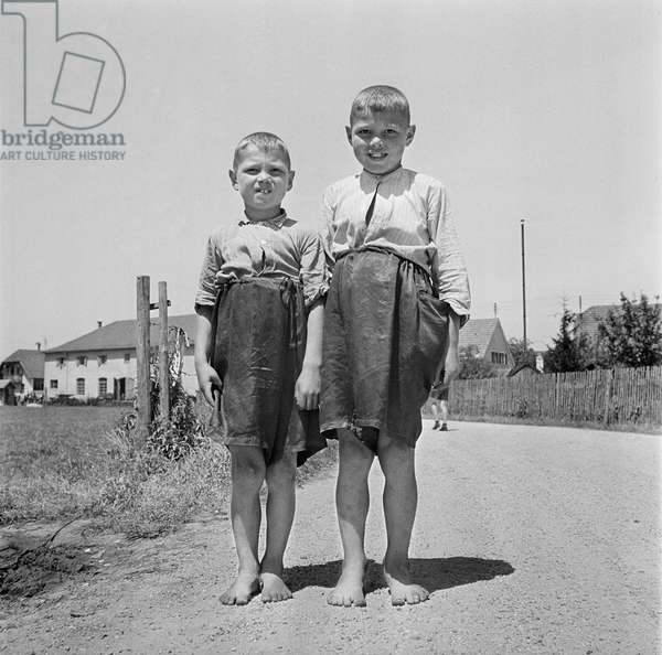 German Brothers, 1946-49 (b/w photo)