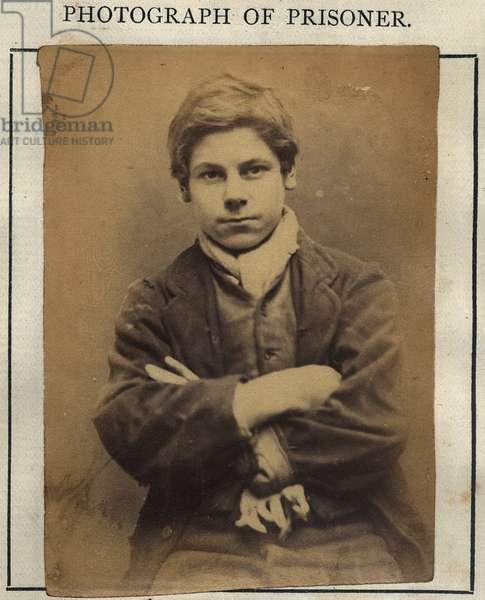 Robert Charlton, c.1870 (sepia photo)