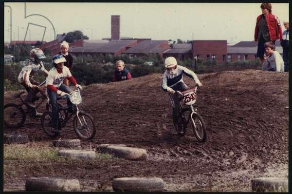 Local BMX Park in Washington, UK, 1970's (photo)