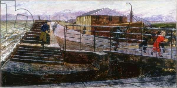 The Alarm, c.1974 (oil on canvas)