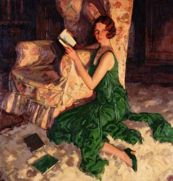 Juliet, Daughter of Richard H. Fox of Surrey, 1931 (oil on canvas)