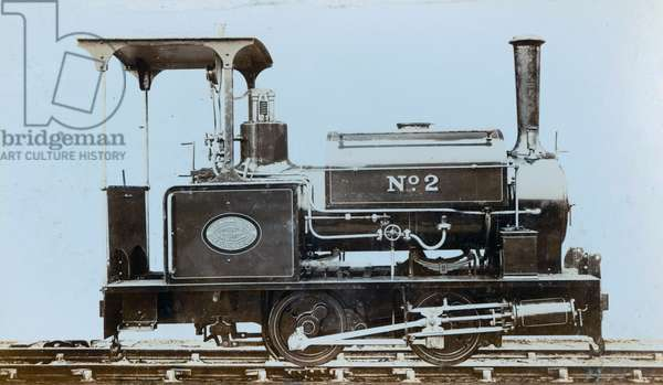 Tank engine ordered by the Weardale Lead Company in April 1913  (photo)