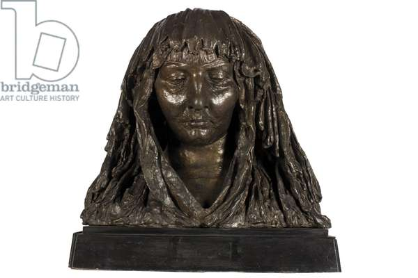 Mrs Epstein in a Mantilla, 1918 (bronze)