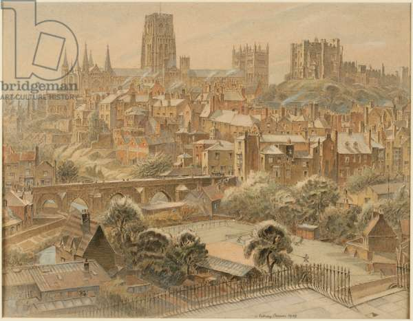 Durham (bodycolour on paper)