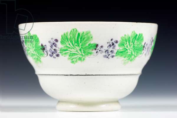 Sugar bowl, 18th-19th century (pearlware)