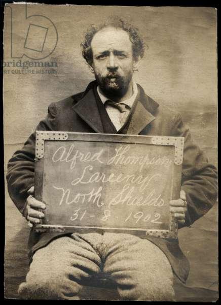 Alfred Thompson, North Shields, UK, 1902 (b/w photo)