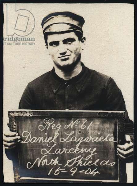 Daniel Lagarieta, North Shields, UK, 1904 (b/w photo)