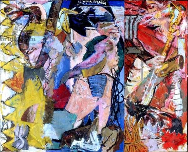 Rite of Spring, 1983 (acrylic on canvas)