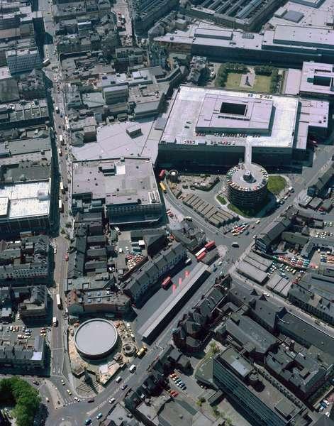 The Haymarket, Newcastle upon Tyne, UK, 1978 (photo)
