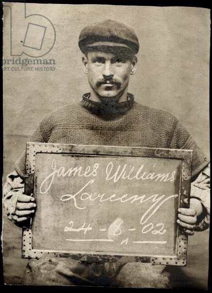 James Williams, North Shields, UK, 1902 (b/w photo)