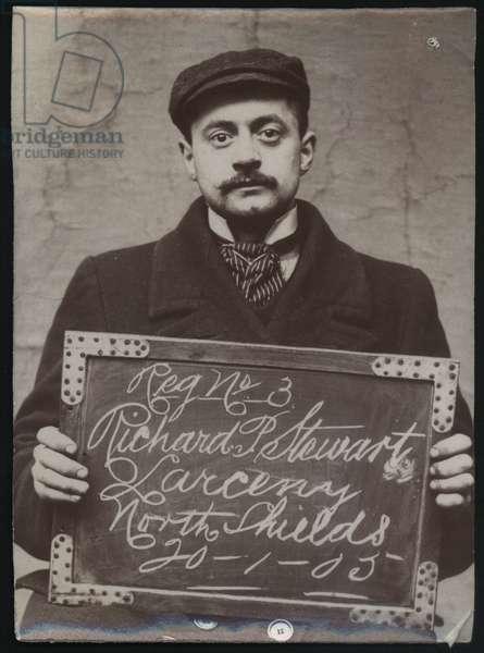 Richard Percy Stewart, North Shields, UK, 1905 (b/w photo)