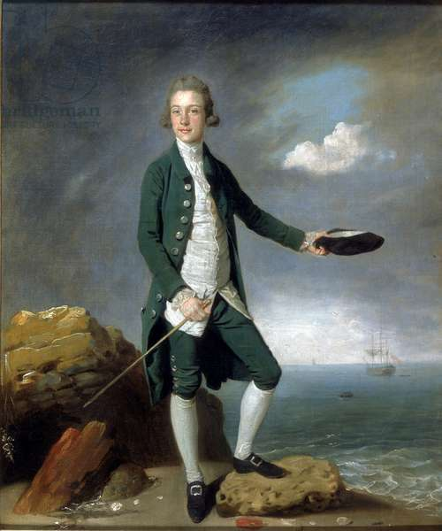 Sir Francis Holvering (oil on canvas)