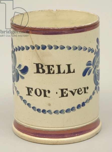 Mug, Sheriff Hill or Tyne Pottery, Gateshead, Tyne and Wear, England, UK, 1826-32 (earthenware)