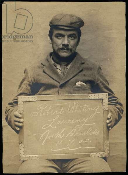 Robert Whiting, North Shields, UK, 1902 (b/w photo)