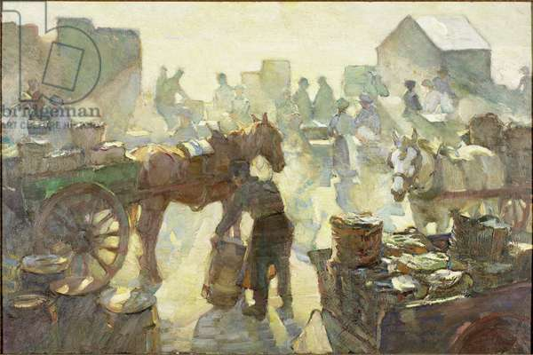 The Herring Season, c.1924 (oil on canvas)