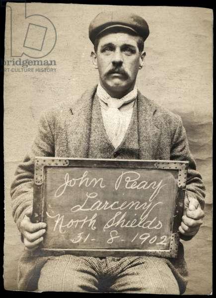 John Reay, North Shields, UK, 1902 (b/w photo)