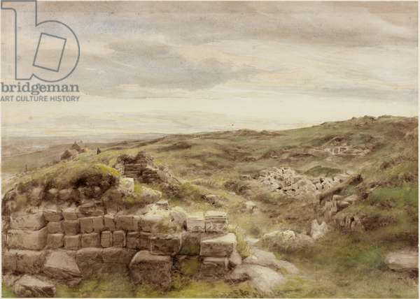 Housesteads, c.1848 (pencil & w/c on paper)