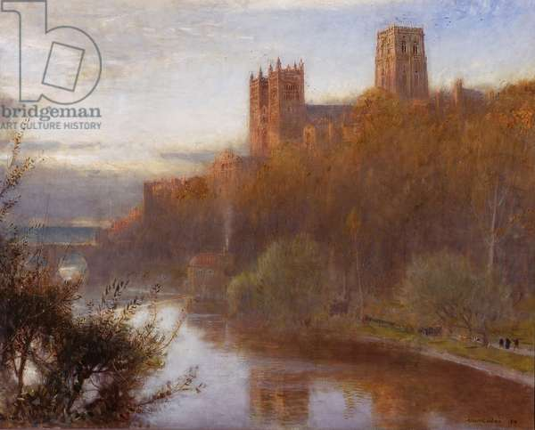 Durham Cathedral, 1910 (oil on canvas)