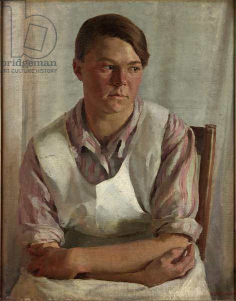The Cook, 1924 (oil on canvas)