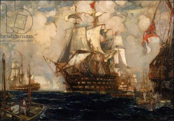 After Trafalgar, 1907 (oil on canvas)