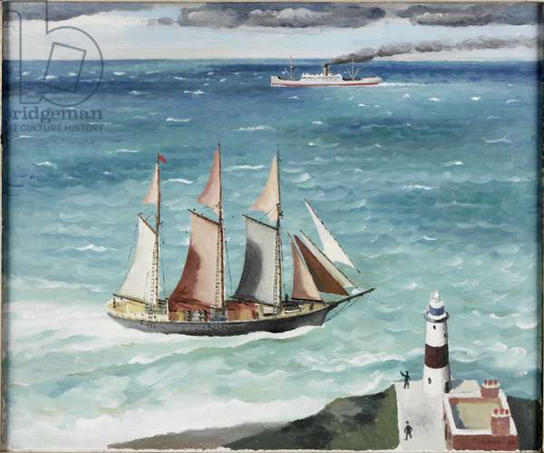 Round the Point, 1931 (oil on canvas)