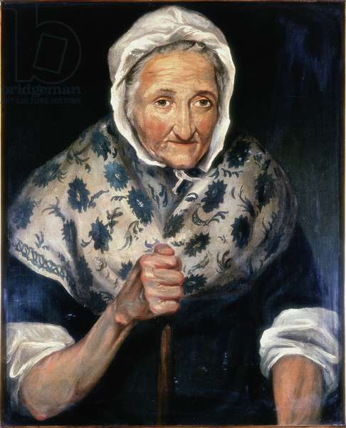 Judy Dowling - Keeper of the Town Hutch (oil on canvas)