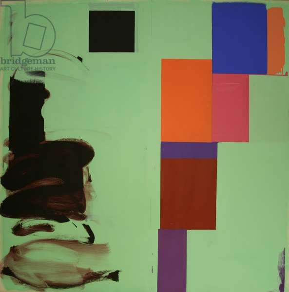 Untitled No. 136, 1974 (acrylic on paper)