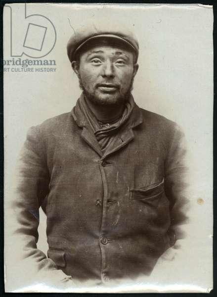 Thomas Higins, North Shields, UK, 1905 (b/w photo)