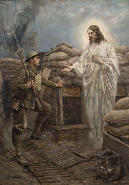 'Abide with me', 1919 (oil on canvas)