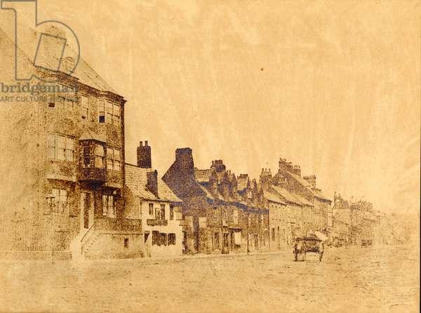 The School of Mr John Collingwood Bruce, Percy Street, Newcastle, c.1860 (b/w photo)