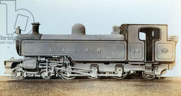 Two tank engines ordered for the Londonderry and Lough Swilly Railway in September 1909 (photo)