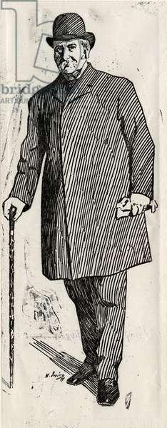 Nicholas Hardcastle, 1899 (litho)