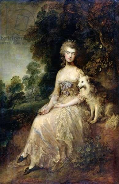 Mrs Mary Robinson ('Perdita') (oil on canvas)