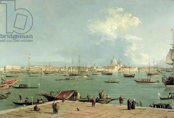 Venice: The Baccio di S. Marco from S. Giorgio Maggiore, c.1740 (oil on canvas)
